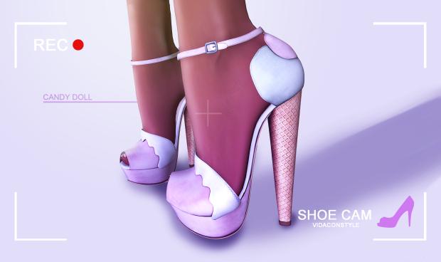 ShoeCam: Candy doll